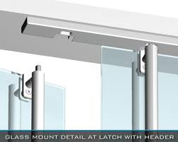 tempered glass door hardware crl arch blumcraft panic devices and access control handles