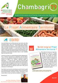 chambre d agriculture deux sevres calam o chambagri mai 2017 le projet alimentaire territorial chambre