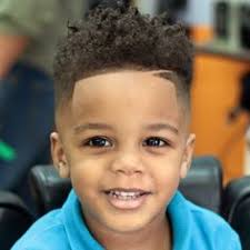 biracial toddler boys haircut pictures boy curly sponge curl haircut before and after hair