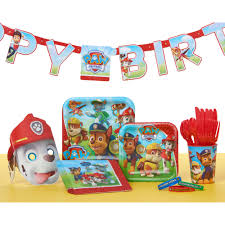 Partystore Com General Birthday Lets Paw Patrol Birthday Party Banner Party Supplies Walmart Com