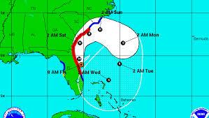 Georgia travel forecast images Will hurricane matthew hit the us latest forecast carolinas png