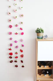 Wall Flower Decor by Top 25 Best Flower Wall Decor Ideas On Pinterest 3d Paper