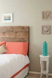 Wood Headboard Diy Thrifty Design Diy Headboard Wooden Headboard Pallet Diy Headboard