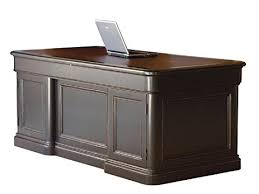 hekman desk leather top amazon com hekman solid wood executive desk with leather top 7 9140