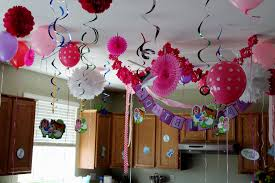 outstanding simple birthday party decorations at home 11 with