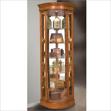 Discount Corner Curio Cabinet Lighthouse Tempo Ii Corner Curio Cabinet By Philip Reinisch Co 43951