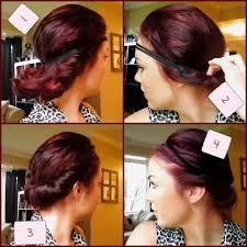 headband across forehead hairstyles with headbands shearbeautyetc