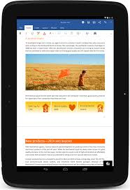 Spreadsheet App For Android Tablet The Office You Love Is Now On Your Android Tablet Office Blogs