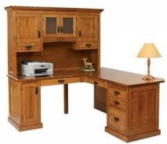 oak corner computer desk foter