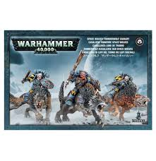 thunderwolf cavalry from games workshop gw 99120101091 miniset