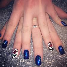 my beauty and the beast nails my life pinterest disney