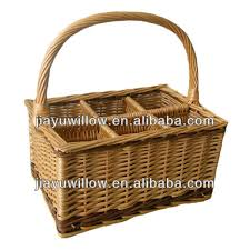 Picnic Basket Set For 4 Valuable Antique Wicker 4 Person Picnic Basket Set With Handmade