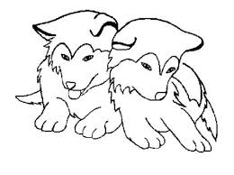 cute husky puppies coloring pages coloring