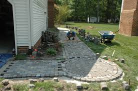 how to build a paver walkway stevescape