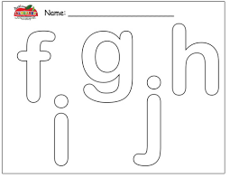 bubble letter coloring pages ubble fghij pdf color 336217