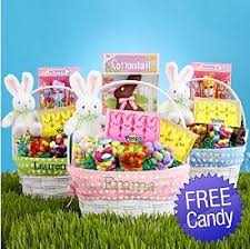 filled easter baskets personalized easter baskets