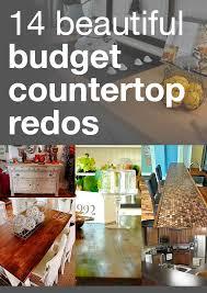 cheap kitchen countertops ideas best 25 countertop redo ideas on paint countertops