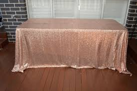 Table Linen Complete Event Hire Rose Gold Sequin Table Cloth Sydney Prop Hire Sydney Nsw Sp