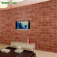 sticker wall brick sticker wall brick 0 6m wide 5m long vintage pvc self adhesive wallpaper waterproof living