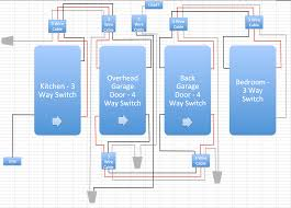 four way switch diagram for light wiring gooddy org