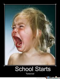 School Starts Tomorrow Meme - school tomorrow d by obama needs titties meme center