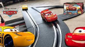 disney cars 3 carrera first race track set u2013 lightning mcqueen vs