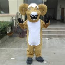 size nice goat mascot costume halloween christmas cartoon