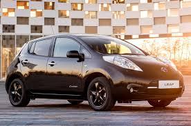 nissan leaf price uk nissan leaf black edition revealed autocar