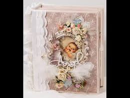 Baby Photo Albums Tilda Baby Scrapbook Mini Photo Album Youtube