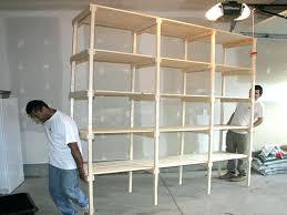 shed workbench and shelves moreshelf storage ideas pinterest shelf