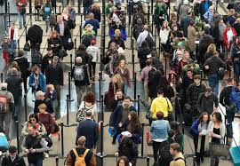 are airports busy on thanksgiving day tsa wants to cut airport security lines fortune