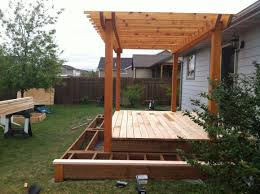 Pergolas And Decks by Fence Pro Montana Fence Builders Snow Plow Services Deck
