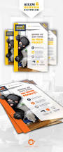 security system flyer templates by grafilker graphicriver