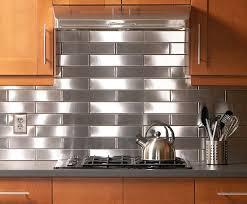 stainless kitchen backsplash backsplash ideas marvellous stainless steel backsplash tiles