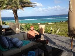 necker island joe player meets richard branson on necker island follow up interview