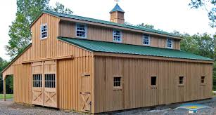 superior prefab garages with apartment 9 monitor horse barn with