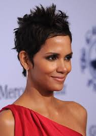 back view of halle berry hair halle berry hairstyle side view of black pixie cut hairstyles