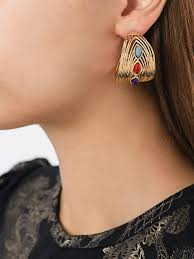 gas earrings gas bijoux rings gas bijoux creole wave earrings 300 women
