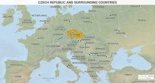 Map Of Germany And Surrounding Countries by Journey To Europe Welcome To Czechia Geopolitics Geopolitical