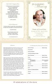 template for memorial service program free memorial templates funeral card templates free format