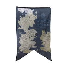 Map Westeros Official Game Of Thrones Gift Box House Sigils And Westeros Map