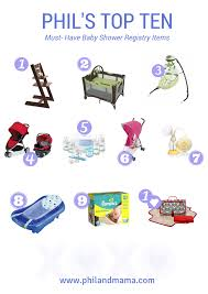 top baby registries top ten baby shower registry must items for the modern and