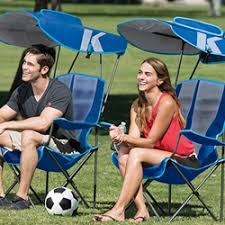 Folding Camping Chairs With Canopy Canopy Chairs Kelsyus