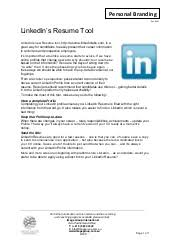 Linkedin Resume Creator by Francis Matturi U0027s Resume 2015