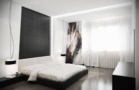 Bedroom Mesmerizing Awesome Low Lying Bed Black White Bedroom White Bedroom