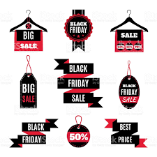 black friday sale signs set of black friday sale icons stock vector art 615519848 istock