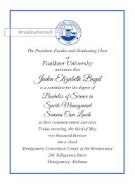 formal college graduation announcements designs free formal graduation invitation wording with photo