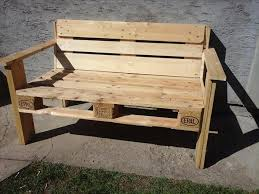 Plans For Building A Wooden Bench by D I Y Pallet Bench