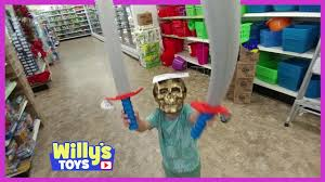 scary pirate sword fight at the dollar tree toy isle hilarious