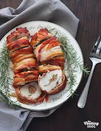 olive stuffed bacon wrapped turkey breast the cooking
